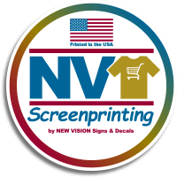 NV Screenprinting logo.