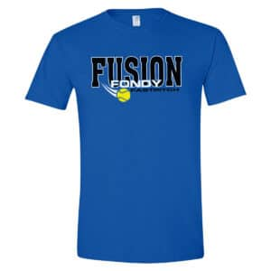 Fondy Fusion T-Shirt (royal blue).