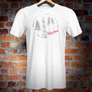 Wisconsin (Forest) T-Shirt.